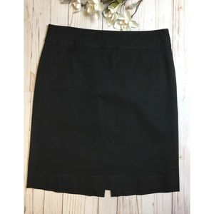Banana Republic black skirt size 12